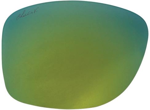 Amber Ocean Reflective Lens Landing Page