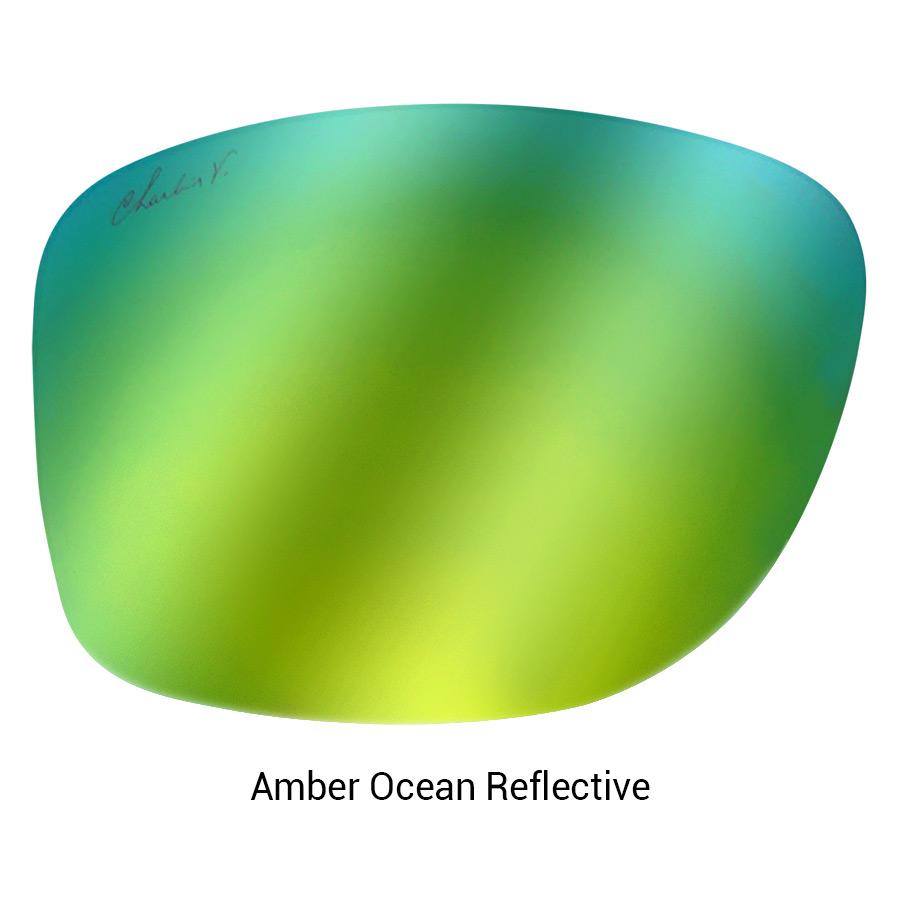 Model Maker Amber Ocean Reflective Lens